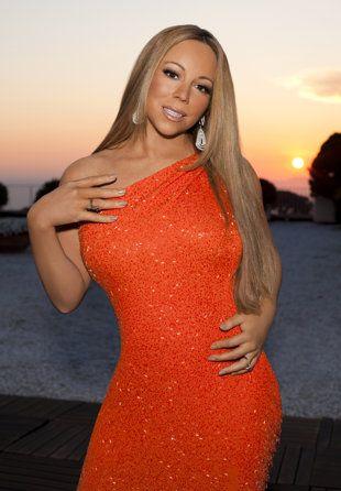 Mariah Carey S Awkward Idol Promo Pose Mariah Carey Mariah