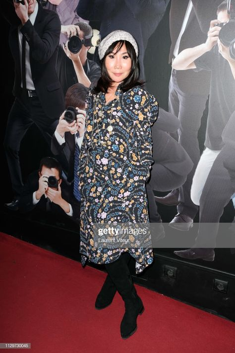 Yubai Zhang Attends Lea Salame Wax Work Unveiling At Musee Grevin On En 2020 Lea Salame Et Actualite