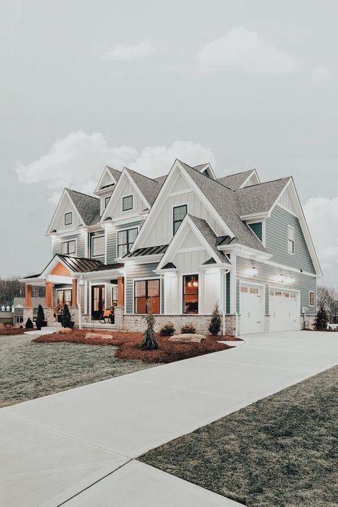 Dream Home Design, My Dream Home, House Design, Dream House Exterior, Dream House Plans, Cute House, My House, Luxury Homes Dream Houses, House Goals