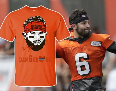 quality design cdddf 9a74b eBay Sponsored) Baker Mayfield Signature TShirt Baker ...