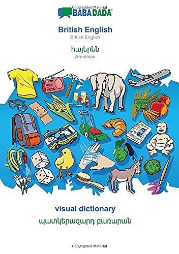 BABADADA, British English - Armenian (in armenian script), visual dictionary - visual dictionary (in armenian script): British English - Armenian (in