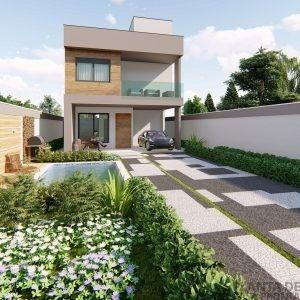 Projeto Casa Sobrado Cs 57 Planta De Casa Pronta