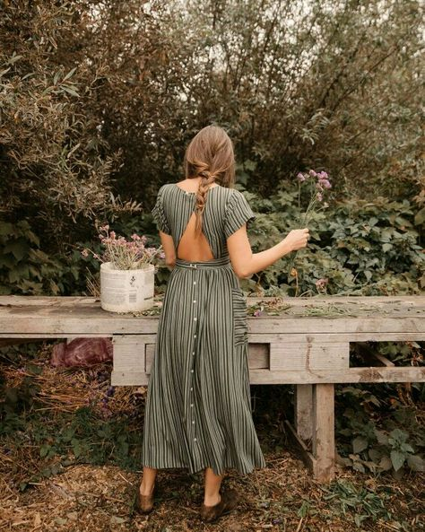 Boho Vintage Retro Dress