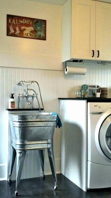 71 Simple Farmhouse Laundry Room Decor Ideas In 2020 Vintage