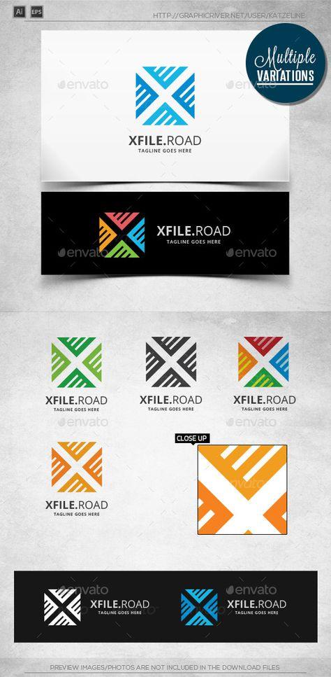 X File - Logo Template