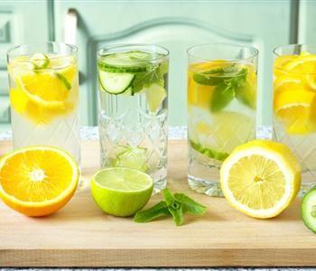 مشروبات تساعدك على حرق دهون البطن النعناع والليمون من بينهم Basil Lemonade Water Recipes Green Smoothie Recipes