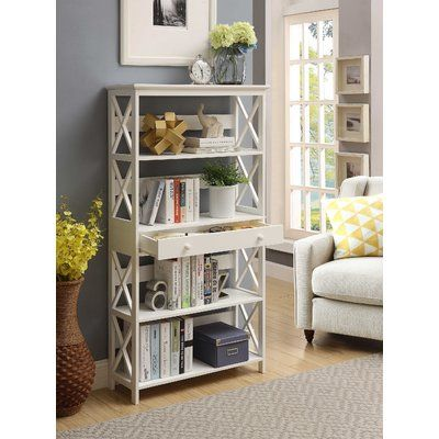 Stoneford 32 W Etagere Bookcase Bookcase With Drawers Bookcase Johar Furniture