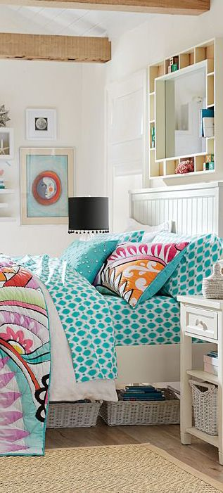 Hibiscus Quilt #bedrooms