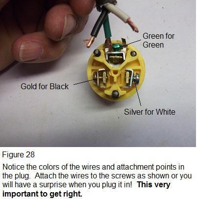 plug wiring diagram  plugs extension cord wire diy
