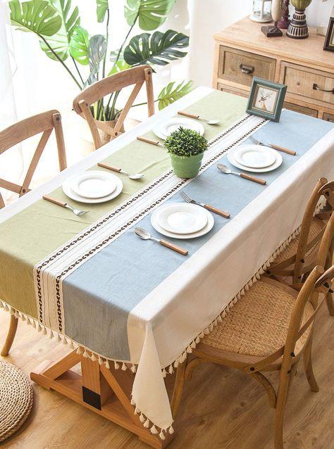 36++ Elegant table cloths dining room Trend