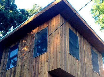 1x8 Channel Rustic Siding Stk Grade Installed On Home In Kentucky In 2020 Cedar Siding Siding Redwood Siding