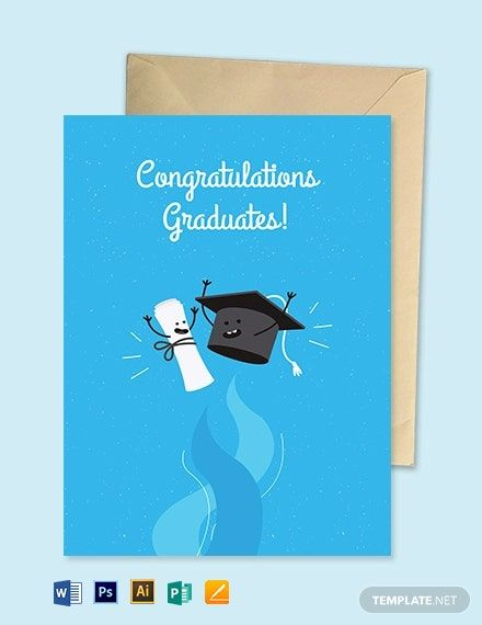Congratulating Someone Who Just Finished Their Studies Deserves An Attractive Greeting Card This Te Greeting Card Template Graduation Greetings Greeting Cards