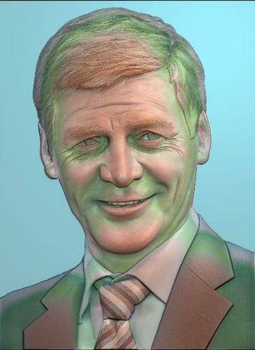 CNC 3d Print relief in STL file format Bill English 3D Print - format for a bill