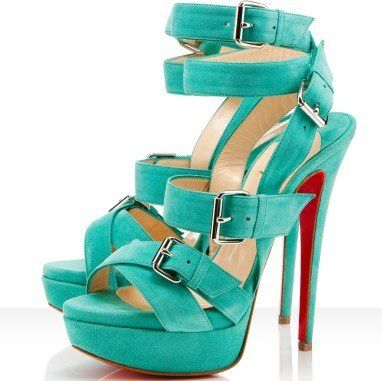 Aqua -- love // Must have, even if I fall and break my neck wearing them.