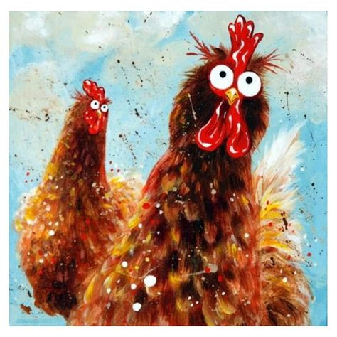 Diamond Painting - Full Round - Village Rooster – Everydayedeals