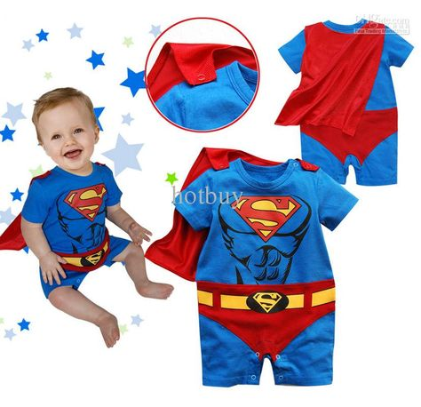 591deded5 Wholesale 48 pcs/lot Girls/boys Superman Suit Fancy Dress SuperHero Costume  for Baby Toddler Kid Pink Blue, Free shipping, $6.68~7.99/Piece | DHgate  Mobile