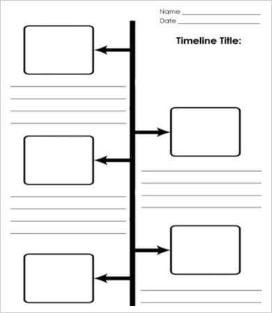 Blank Timeline Worksheet Pdf Together With Sample Biography