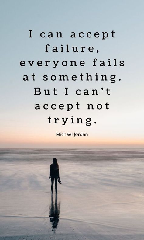 Don't give up even though everybody thinks you are a looser. Get more motivational quotes that inspire you to not accept failure. #motivational #quotes #wordsofwisdom #inspirational #selfimprovement