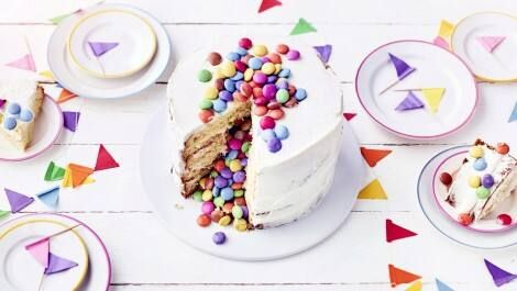 Smarties Torte Rezept Edeka Rezept Torten Rezepte Torten Rezepte