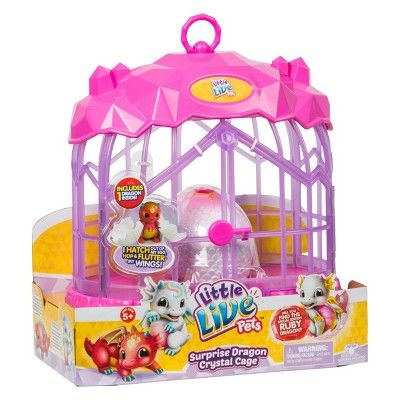 Little Live Pets Dragon Cage Playset Little Live Pets Pet