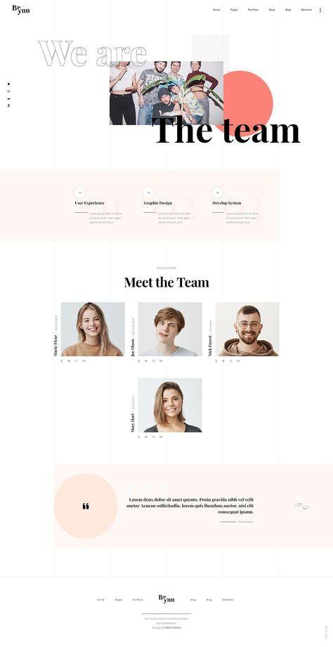 WordPress Portfolio Theme Website Templates from ThemeForest