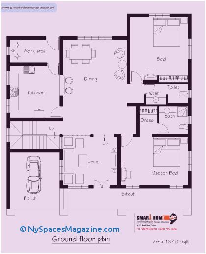 500 Sq Ft House Plans South Indian Style House Plans Architectural House Plans How To Plan