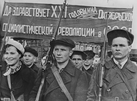 red russian revolution...the people for the people!!