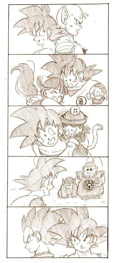 しぃの実 tkgsize さんの漫画 29作目 ツイコミ 仮 ドラゴンボール 悟チチ ドラゴンボール 漫画