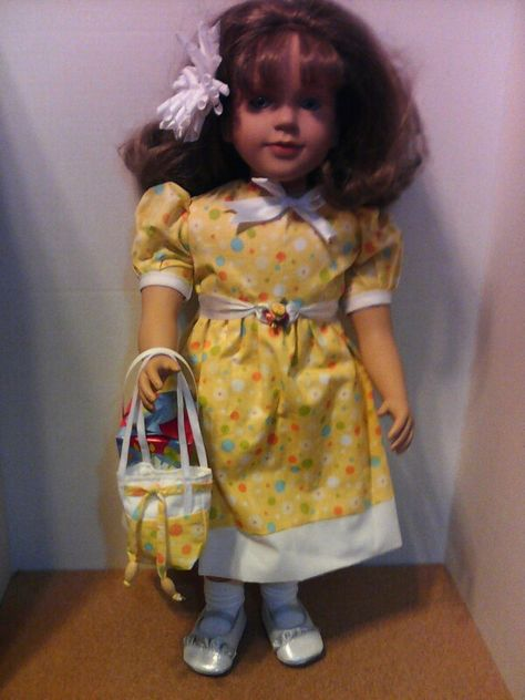 "**SALE** MY TWINN Purple Floral DOLL SANDALS CLOGS Shoes fits 23/"" Poseable Doll"
