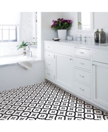 Black And White Self Stick Floor Tiles Walesfootprint Org