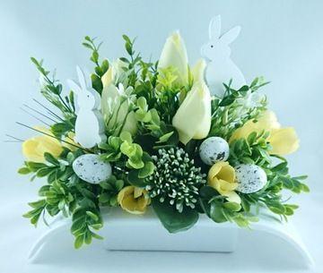 Dekoracje I Ozdoby Wielkanocne Stroiki Jajka Galazki Wianki I Wience Sklep Internetowy Flower Arrangements Center Pieces Flower Arrangements Flower Boxes