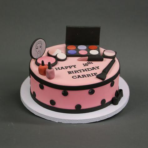 Outstanding Birthday Cake Girls Makeup Nail Polish 68 Ideas Funny Birthday Cards Online Inifodamsfinfo