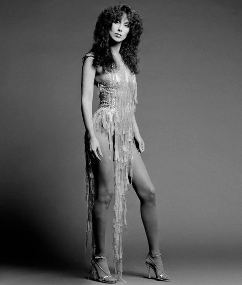 Cher photographed by Clive Arrowsmith, 1975. - #1970's #1975 #Cher #fashion #music #photography #retro #vintage