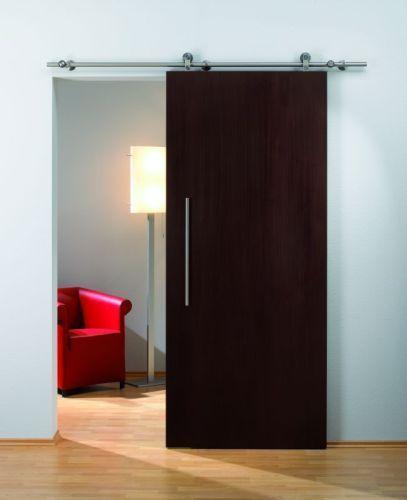 Flatec Ii Barn Door System From Hafele Well Reviewed Manufacturer Of Quiet Pocket Barn Door Hardw Desain Interior Rumah Interior Desain Interior