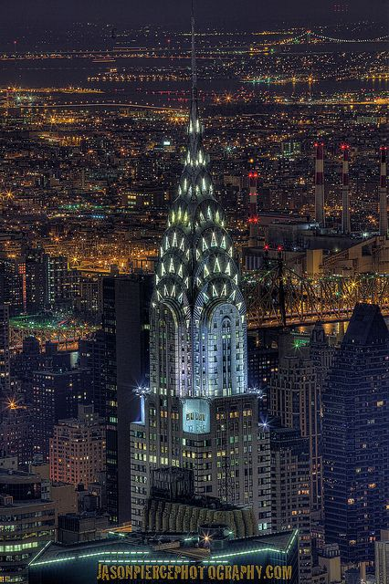 The Chrysler Building, NYC - Explored! :D 1/12/2012  The Chrysler Building: Standing at 1,047 feet, it was the world's tallest building for 11 months before it was surpassed by the Empire State Building in 1931. After the destruction of the World Trade Center, it was again the second-tallest building in New York City until December 2007, when the spire was raised on the 1,200 foot Bank of America Tower, pushing the Chrysler Building into third position. In addition, The New York Times…