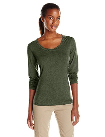 100% authentic 4a68b 2b270 Royal Robbins Frauen 'S Essential Tencel Twist Hals Crew ...