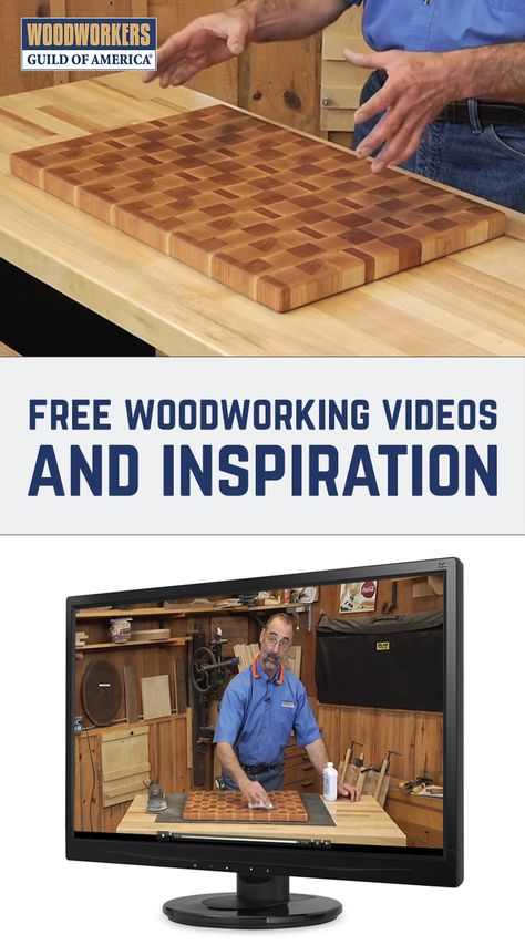 Get Free Woodworking Video Instruction Projects And