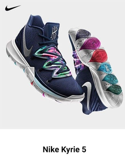 674833d1c9e04 Holy Moly! Who loves shoes?! These Kyrie 5's look amazing! Available today!  #nike #kyrie5 #newshoes