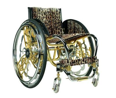 Blinged Out Wheelchairs