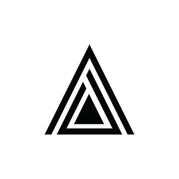 A Letter Triangle Logo In 2021 Triangle Logo Logo Design Free Templates Logo Design Template