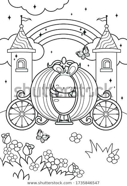 Shutterstock Illustration Art Vector Template Coloring Colouring Page Book Drawing Color Kids Child Activity Pen Coloring Pages Coloring For Kids Book Drawing
