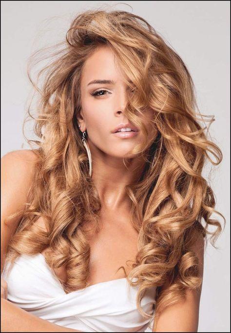 Frisuren Lange Lockige Haare Für Feines Haar Frisuren