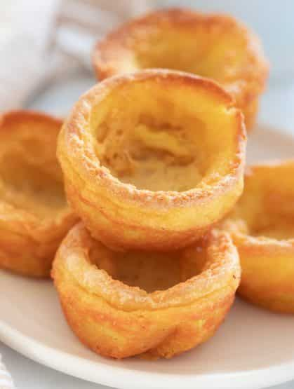 Perfect Vegan Yorkshire Puddings Gluten Free Option A Virtual Vegan Recipe Vegan Yorkshire Pudding Aquafaba Recipes Yorkshire Pudding Recipes