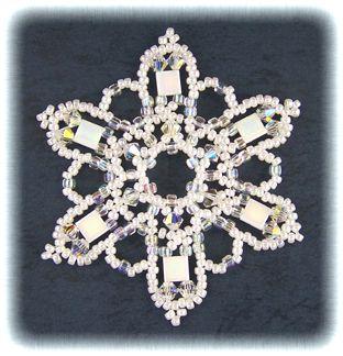 Tila Bead Snowflake