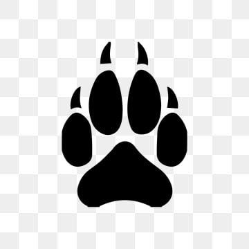 Wolf Foot Worf Feet Animal Feet Png And Vector With Transparent Background For Free Download In 2021 Logo Design Free Templates Monkey Art Logo Design Free