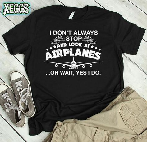 Aviation Shirt Airplane Pilot Gift Gifts For