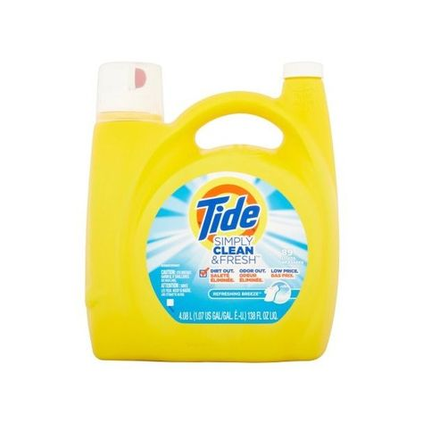 Tide Simply Clean Fresh He Liquid Laundry Detergent Refreshing