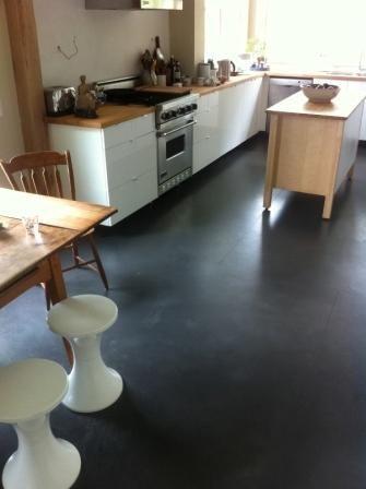 Polished Concrete Floors Over Under Floor Radiant Heat System Garage Floor Epoxy Kitchen Flooring Garage Floor