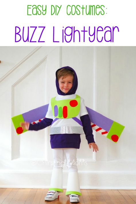 Easy Diy Toy Story Costumes Buzz Lightyear Costume Toy Story