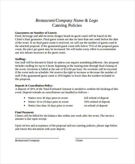 business proposal format free pdf word documents download letter - policy proposal template